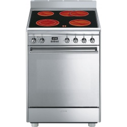 Aragaz SMEG Coloniale CO68CMP9, 60X60cm, inductie, 4 zone gatire, cuptor electric, timer, aprindere electronica, crem