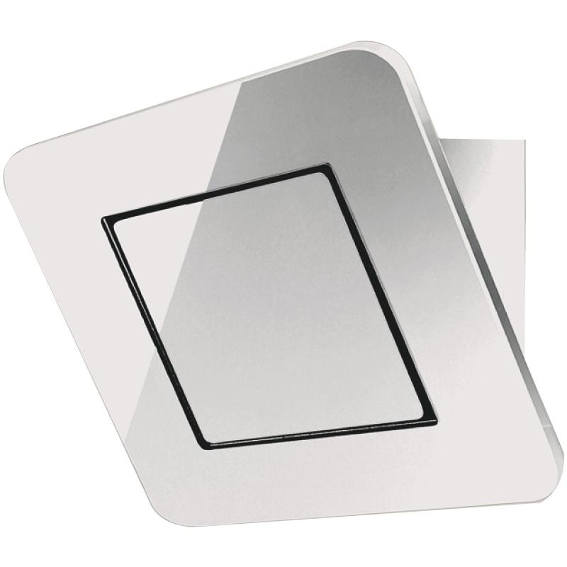 Hota design Baraldi Galaxy Glass 01GAL090WH90, 90 cm, 900 m3/h, sticla alba