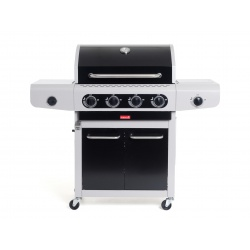 Gratar pe Gaz Barbecook SIESTA 412 Black Edition