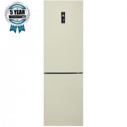 Combina frigorifica Haier C2FE736CCJ, A++, 276 kWh/an, 201 L, 104 L, crem