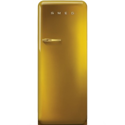 Frigider cu 1 usa SMEG FAB28RDG, No Frost, Clasa A++, 222L, auriu