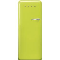 Frigider cu 1 usa SMEG FAB28LV1, No Frost, Clasa A++, 222L, verde