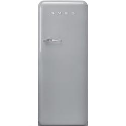 Frigider cu 1 usa SMEG FAB28RX1, No Frost, Clasa A++, 222L, argintiu
