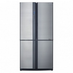 Side by side SHARP SJEX820FWH, 605l, Clasa A++,Hybrid Coolinng System, alb