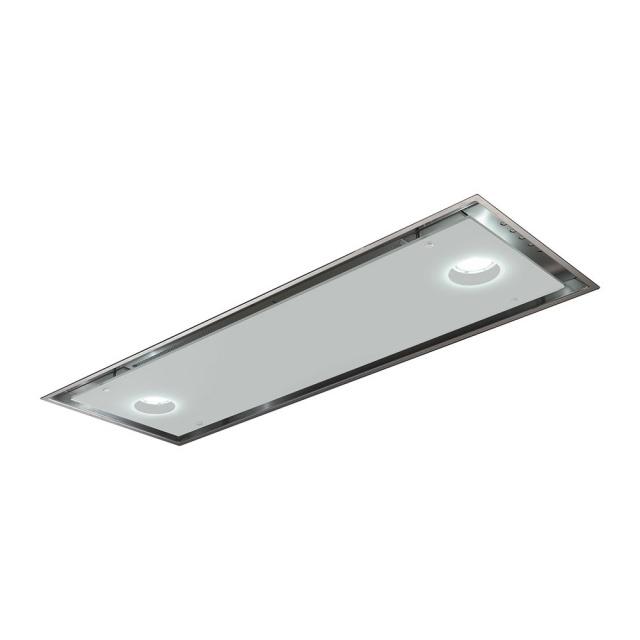 Hota incorporabila Smeg Dolce KSG52B, 52 cm, 630 m3/h, inox/ sticla alba