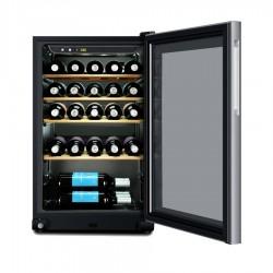 Vitrina vinuri Haier WS30GA, A, 133 kWh/an, 30 sticle, negru