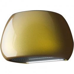 Hota decorativa de perete Sirius SLT 106 LINK-GOLD, 60 cm, 600 m3/h, ceramica, Auriu