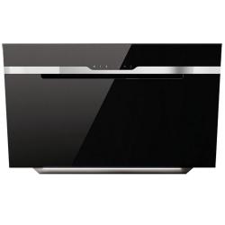 Hota decorativa Elica Sense MajesticBL/A/60, 60 cm, 603 m3/h, sticla neagra