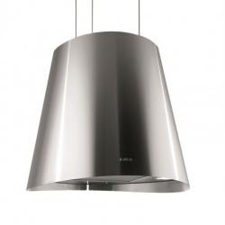 Hota suspendata de tavan Elica Edith Sense Heavy Metal/F/50, 50 cm, 550 m3/h, otel inoxidabil