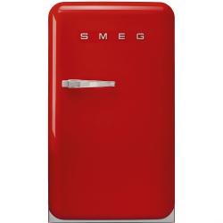 Frigider cu 1 usa Retro SMEG FAB10LR, Clasa A+, 120L, rosu