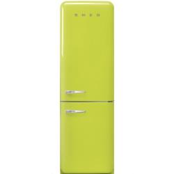 Combina frigorifica SMEG FAB32RRON1, No Frost, Clasa A++, 304L, roz
