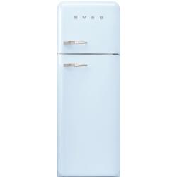 Frigider 2 usi Retro SMEG FAB30RAZ1, Clasa A++, 229L, albastru pastel