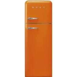 Frigider 2 usi Retro SMEG FAB30RO1, Clasa A++, 229L, portocaliu