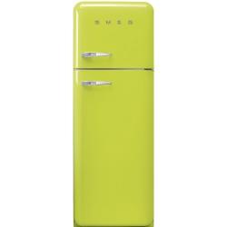 Frigider 2 usi Retro SMEG FAB30RVE1, Clasa A++, 229L, verde lamaie