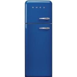 Frigider 2 usi Retro SMEG FAB30LBL1, Clasa A++, 229L, albastru