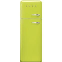Frigider 2 usi Retro SMEG FAB30LV1, Clasa A++, 229L, verde pastel
