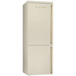 Combina frigorifica SMEG Coloniale FA8003POS, No Frost, Clasa A+, 356L, crem