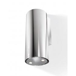 Hota decorativa Faber Cylindra PLUS WH A37, 37 cm, 680 m3/h, alb perlat