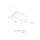 Plita incorporabila Bertazzoni Profesional PM360IGX, 90 cm, plita inductie, 5 zone gatit, sticla neagra