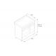 Aragaz Bertazzoni Master MAS906MFEDNET, 90x60 cm, gaz, 6 arzatoare, 2 cuptoare electrice, negru mat
