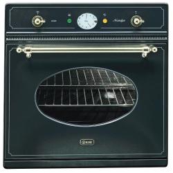 Cuptor incorporabil ILVE Nostalgie 600NE3, 60cm, 60l, grill electric, negru mat