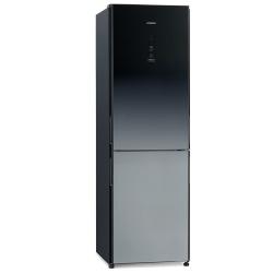 Combina frigorifica Hitachi R-BG410PRU6X(XGR), 330 L, clasa A++, 219 kWh/an, No Frost, Negru oglinda degrade