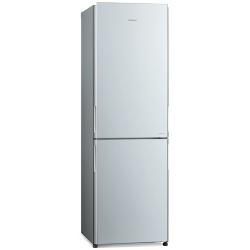 Combina frigorifica Hitachi R-BG410PRU6(GS), 330 L, clasa A++, 219 kWh/an, No Frost, Sticla argintie