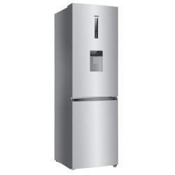Combina frigorifica Haier C3FE744CMJW, 450 l, Clasa A++, Total No Frost, 70 cm, dispenser apa, Inox