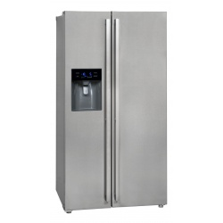 Side by Side Exquisit SBS530-3A, Clasa A+, 527L, No Frost, inox
