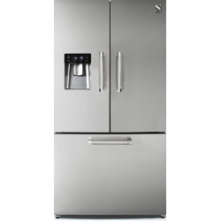 Side by Side Exquisit SBS200-4A, Clasa A+, 514L, No Frost, Twist Ice Maker, inox