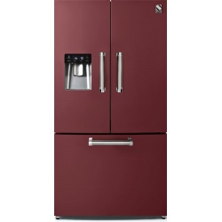 Side by Side Steel Genesi GFR9F , Clasa A+, 536L, No Frost, Dispenser Apa, Twist Ice Maker, negru antracit