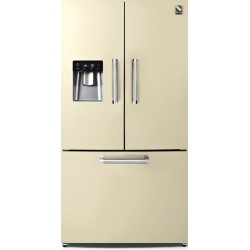 Side by Side Steel Genesi GFR9F , Clasa A+, 536L, No Frost, Dispenser Apa, Twist Ice Maker, albastru deschis