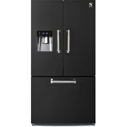 Side by Side Steel Genesi GFR9F , Clasa A+, 536L, No Frost, Dispenser Apa, Twist Ice Maker, crem