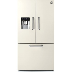 Side by Side Steel Genesi GFR9F , Clasa A+, 536L, No Frost, Dispenser Apa, Twist Ice Maker, negru