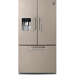 Side by Side Steel Genesi GFR9F , Clasa A+, 536L, No Frost, Dispenser Apa, Twist Ice Maker, crem inchis