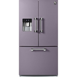 Side by Side Steel Ascot AFR9F , Clasa A+, 536L, No Frost, Dispenser Apa, Twist Ice Maker, inox