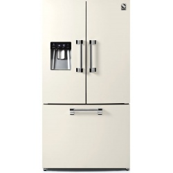 Side by Side Steel Ascot AFR9F , Clasa A+, 536L, No Frost, Dispenser Apa, Twist Ice Maker, negru