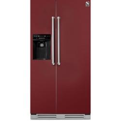 Side by Side incorporabil Steel Genesi GFRB9 , Clasa A+, 543L, No Frost, Dispenser Apa / Gheata, negru antracit