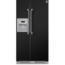 Side by Side incorporabil Steel Ascot AFRB9 , Clasa A+, 543L, No Frost, Dispenser Apa / Gheata, crem inchis