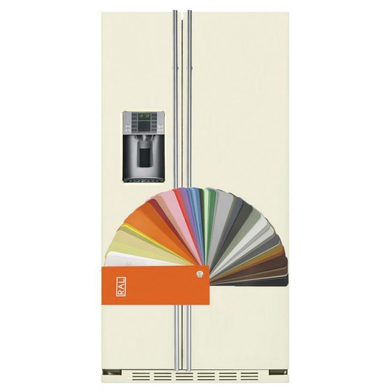 Side by side IOMABE Exclusive V Series ORE24VGF3RAL, clasa A+, 528 l, No Frost, culoare RAL la alegere