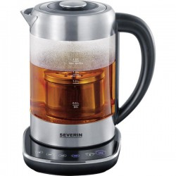 Ceainic cu acumulator Severin WK 3471,3000W,1,5l,4 setari de temperatura,otel inoxidabil