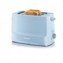 Toaster automat Start Severin AT 9723,800W,termostat reglabil,albastru deschis-gri
