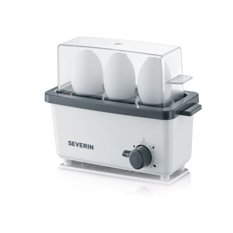 Fierbator oua Severin 3161,300W,3 oua,alb/gri