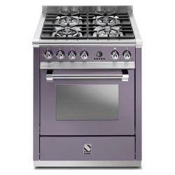 Aragaz Steel Ascot, 70X60cm, 4 arzatoare, cuptor electric multifunctional, timer, aprindere electronica, inox