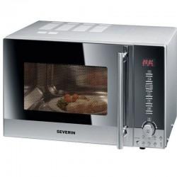 Cuptor cu microunde Severin MW7876,800W,20l,grill,otel inoxidabil