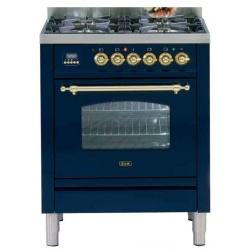 Aragaz ILVE Nostalgie Profesional line PN70, 70X60cm, 4 arzatoare, cuptor electric, timmer, aprindere electronica, inox