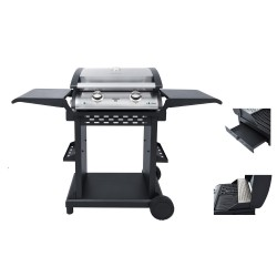 Gratar electric BBQ STEBA VG 500 Plus, 2400W, negru