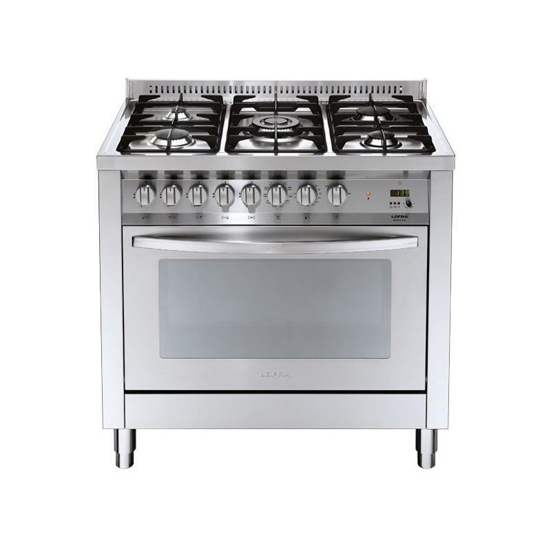 Aragaz Lofra Special 90 PG96GV/CI, gaz, 90x60cm, 5 arzatoare, cuptor gaz, grill electric, timer, inox