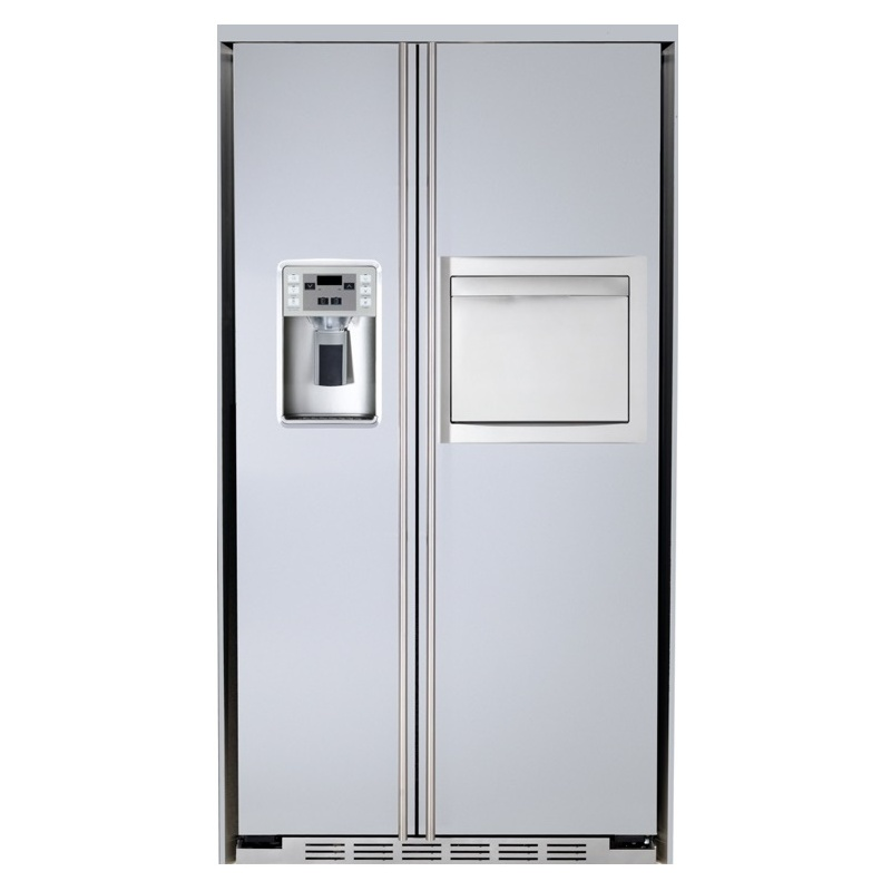 Side by side incorporabil IOMABE Lux KB Series ORE24CHF30+FIF-30 cu minibar, clasa A+, 572 l, No Frost, Inox