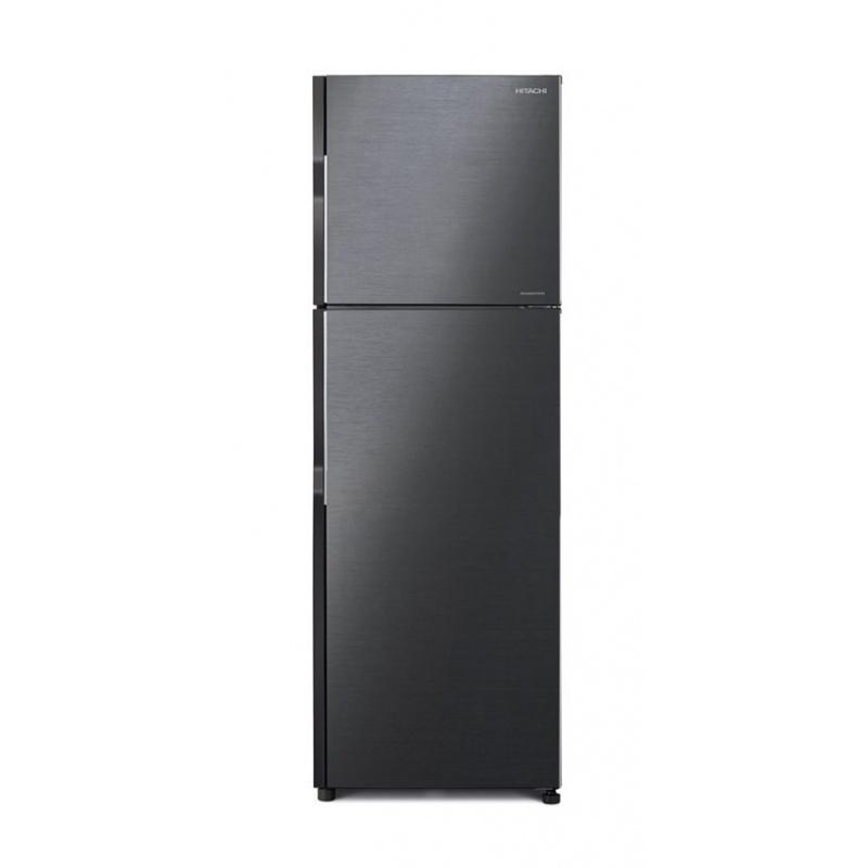 Frigider cu 2 usi Hitachi R-H270PRU7(BBK), Clasa A+, Volum net 230 Litri, No Frost, 54 cm latime, negru